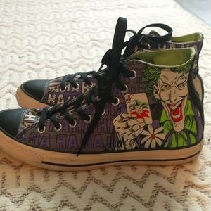 Converse Batman Joker